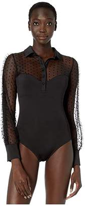 Thistle & Spire Meserole Bodysuit with Collar
