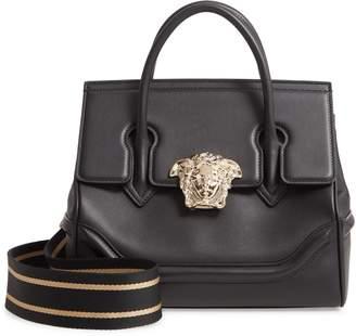 Versace First Line Palazzo Empire Medium Leather Satchel