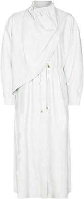Dodo Bar Or Draped Wraparound Coat