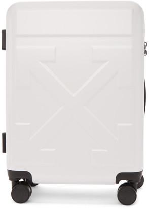 Off-White Off White White Arrows Suitcase