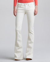 Ralph Lauren Black Label Mod Boot-Cut Jeans, Faded Caliper