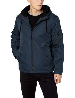 Calvin Klein Men's Rip Stop Hooded Jacket