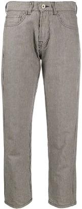 YMC Stripe Print Trousers