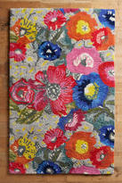 Anthropologie Poppy Patch Rug