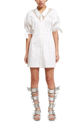 Opening Ceremony Sateen Lace Dress