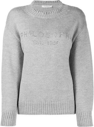 Philosophy di Lorenzo Serafini Logo Print Sweater