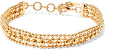 Elizabeth Cole Gold-plated choker