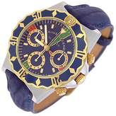 Julius Legend Ulysses Diver - Gold and Stainless Steel Chronograph