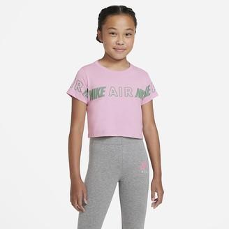 Nike Big Kids' (Girls') Cropped T-Shirt