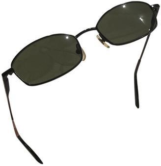 Calvin Klein Black Metal Sunglasses