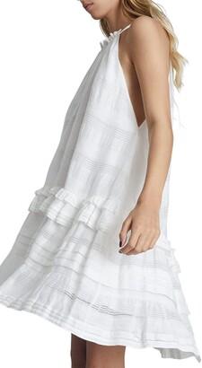 Reiss Gabriella Sleeveless Ruffle Dress