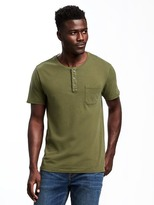 Old Navy Garment-Dyed Henley for Men