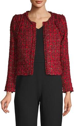 Iro . Jeans Disco Crop Tweed Jacket