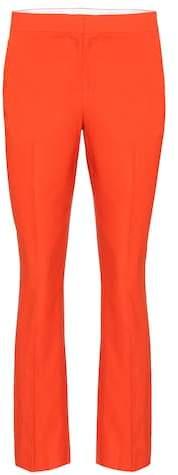 Diane von Furstenberg Linen-blend trousers