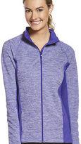 Jockey Womens Space Dye Fleece Jacket