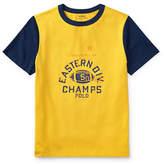 Ralph Lauren Childrenswear Cotton Jersey Ringer T-Shirt