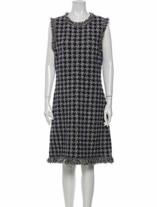 Oscar de la Renta 2019 Knee-Length Dress w/ Tags Wool