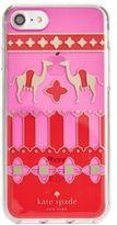 Kate Spade Camel Medallion iPhone 7 Case