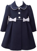 Iris & Ivy Baby Girls Two-Piece Textured Coat and Dress Set