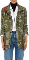Mr & Mrs Italy Women's Camouflage Cotton Canvas Field Jacket