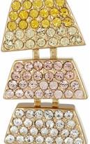 Eddie Borgo Gold-plated cubic zirconia earrings