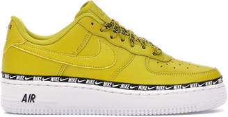 Nike Force 1 Low Overbranding Bright Citron (W)