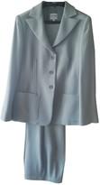 Armani Collezioni Grey Wool Jumpsuit for Women