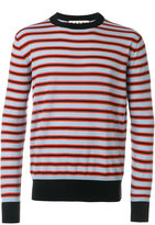 Marni breton striped sweatshirt - men - Wool - 48