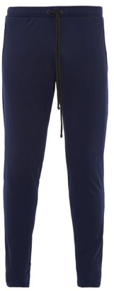 Iffley Road Royston Technical Soft-shell Track Pants - Mens - Navy