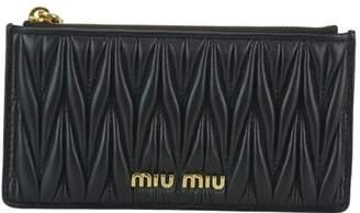 Miu Miu Zipped Cards Holder