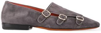 Santoni buckled loafers