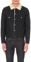 Sandro Faux-shearling Cotton Jacket