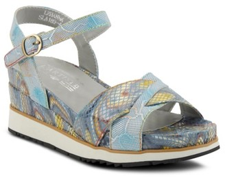 L'artiste By Spring Step Lehanna Wedge Sandal