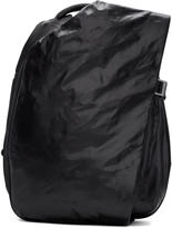 Côte and Ciel Black Small Isar Memorysuede Backpack