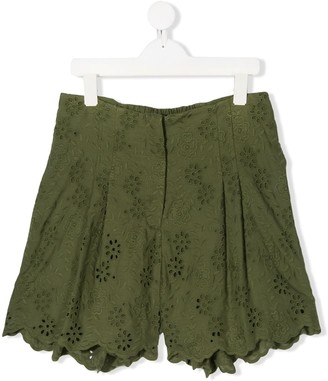 MonnaLisa TEEN broderie anglaise shorts