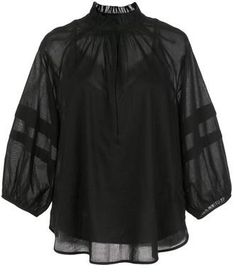 Apiece Apart Laguna sheer blouse