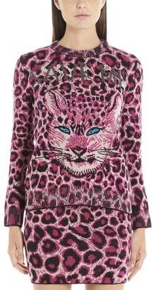 Alberta Ferretti Animalier Save Me Sweater