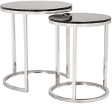 ZUO Rem Black & Stainless Steel Coffee Table Set