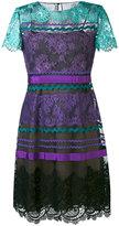 Alberta Ferretti printed dress - women - Cotton/Polyamide/Polyester/Polyimide - 42