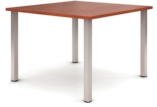 "42"" Square Multi-Student Desk Trendway Finish: Cherry"