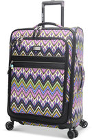 """Steve Madden Patchwork 29"""" Expandable Spinner Suitcase"""