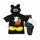 Asstd National Brand Boys Mickey Mouse Long Sleeve Pant Set-Toddler
