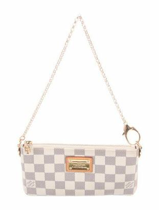 Louis Vuitton Damier Azur Pochette Milla MM navy