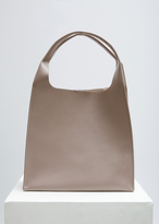 Maison Margiela Dove Grey Leather Tote