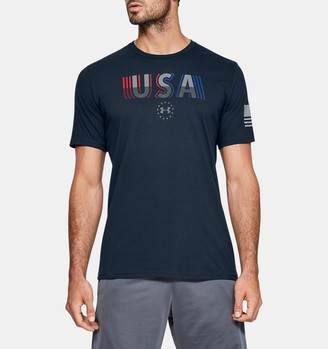 Under Armour Men's UA Freedom USA Undefeated T-Shirt