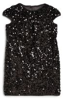 Milly Little Girl's Stretch Sequined Dress