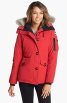 Canada Goose Women's 'Montebello' Slim Fit Down Parka With Genuine Coyote Fur Trim
