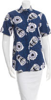 Alice McCall Printed Solange Top w/ Tags