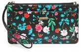 Kate Spade Women's Cameron Street - Jardin Karolina Faux Leather Wallet - Black