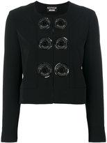 Moschino button detail jacket